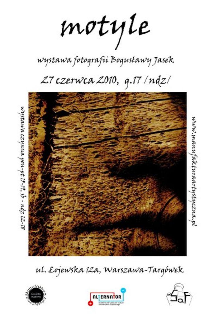 MOTYLE Wystawa fotografii Bogusławy Jasek