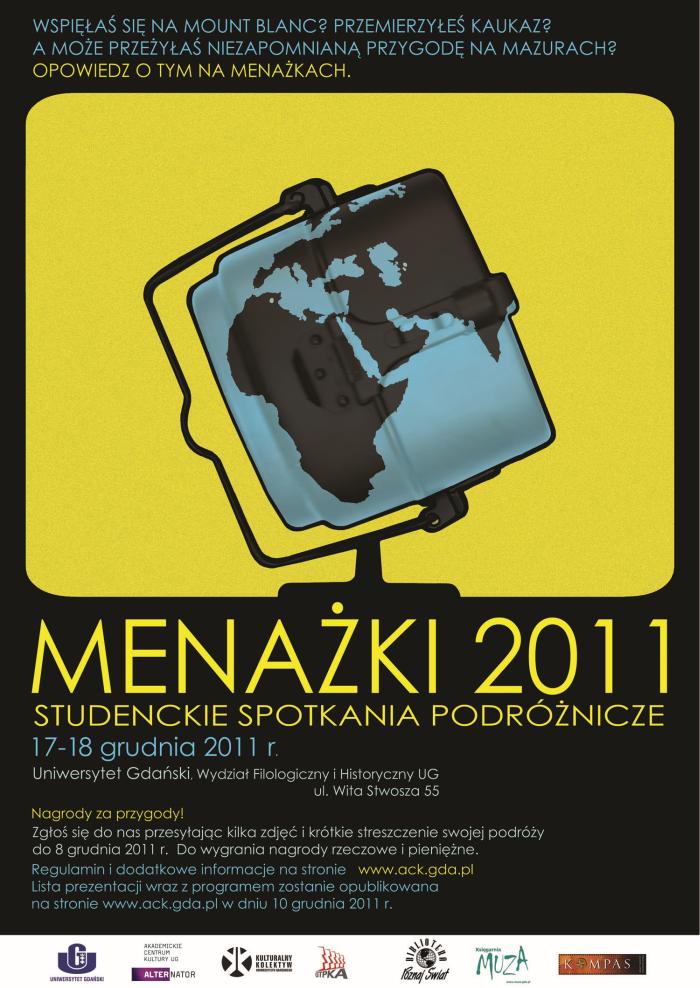 Menażki 2011 - Studenckie Nagrody Podróżnicze