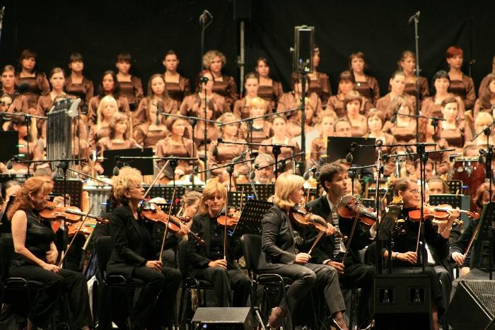 Koncert z Ennio Moricone - Akademicki Chór UG - 2009.08.28