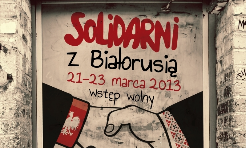 Solidarni z Białorusią 2013