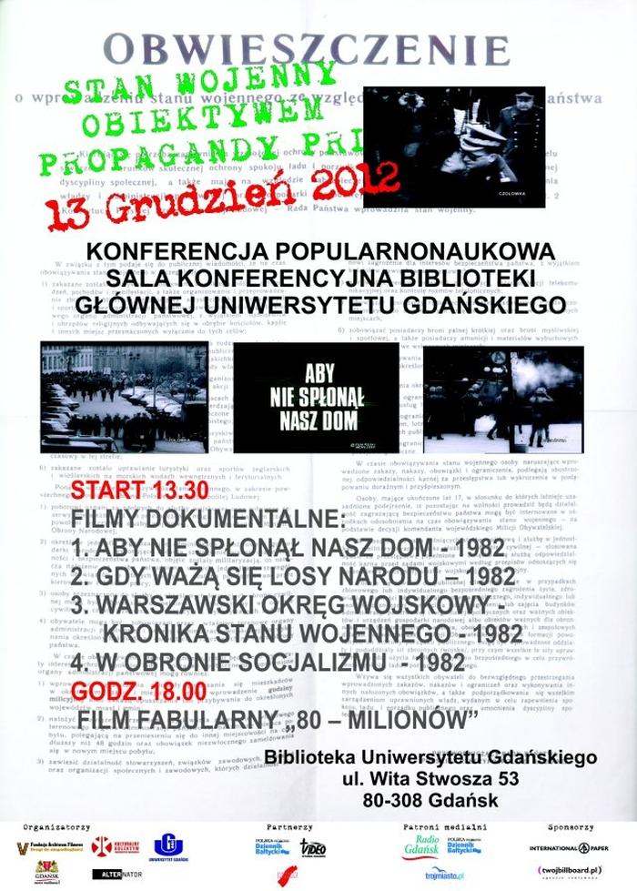 Stan wojenny obiektywem propagandy PRL