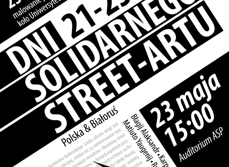Dni Solidarnego Street Artu