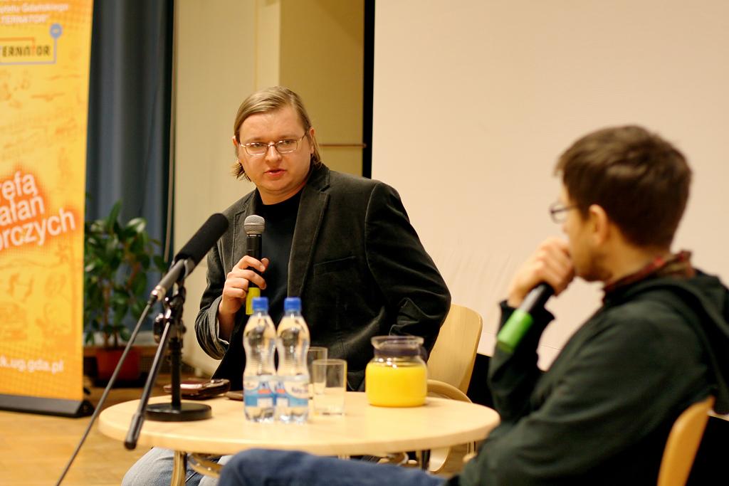 Kinematograf Polski marzec 2011 Spotkanie z Przemysłwem Wojcieszkiem