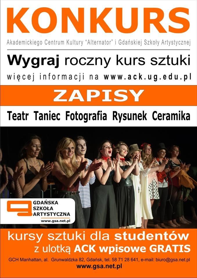Konkurs! ACK Alternator i Gdańskiej Szkoły Artystycznej