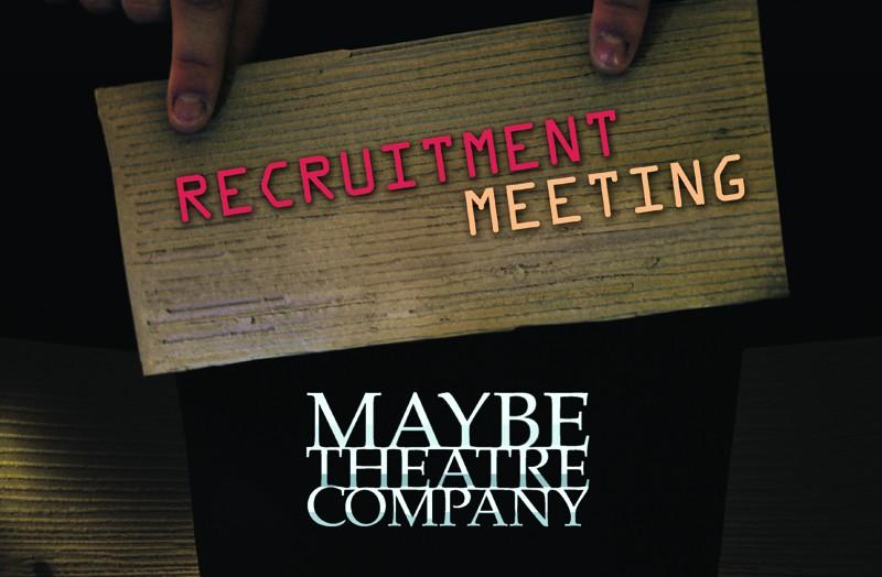 Spotkanie rekrutacyjne do Maybe Theatre Company