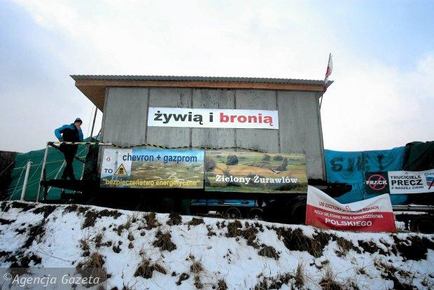 z15106196Q,Protest_w_Zurawlowie_przeciwko_wydobyciu_gazu_lupkowego