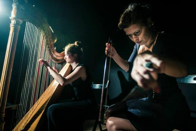 Koncert/Performance: Piła i harfa