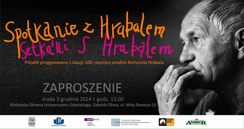 Spotkanie z HRABALEM w Bibliotece Głównej Uniwersytetu Gdańskiego