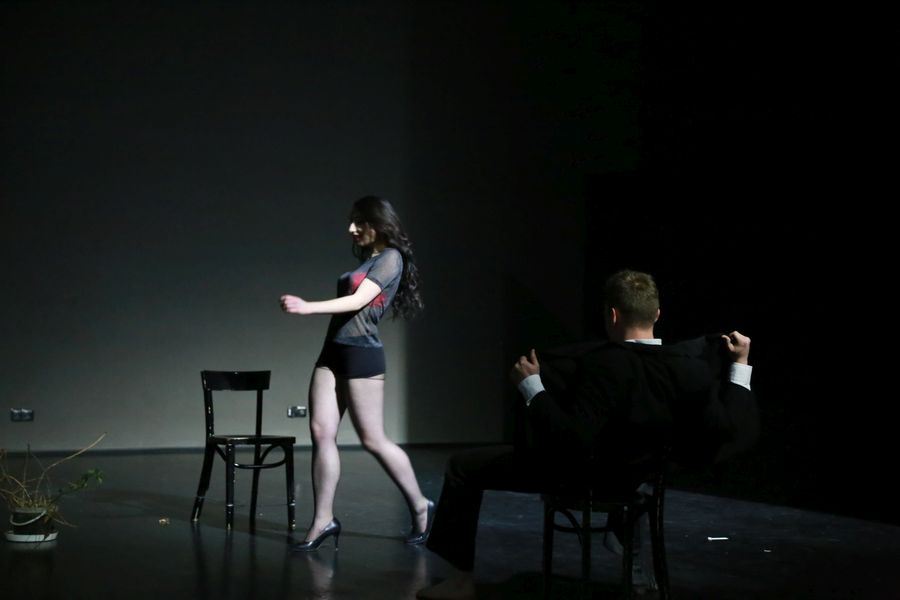"""Samuel Beckett – """"Czekając na Godota"""" STANDBY STUDIO     9 marca 2016"""