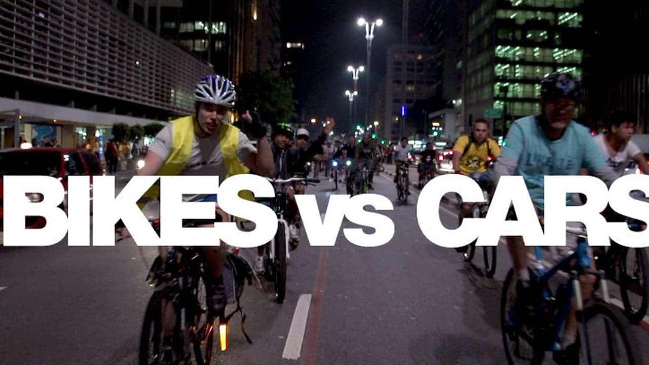 Kręć kilometry dla UG - pokaz filmowy Rowery kontra samochody