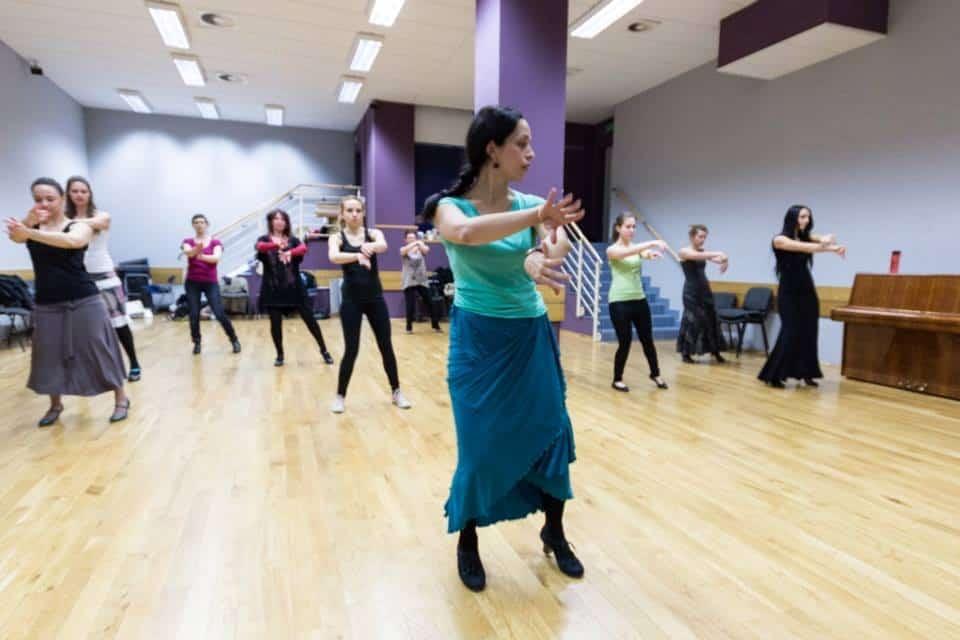 Los Mariscos - zespół tańca flamenco