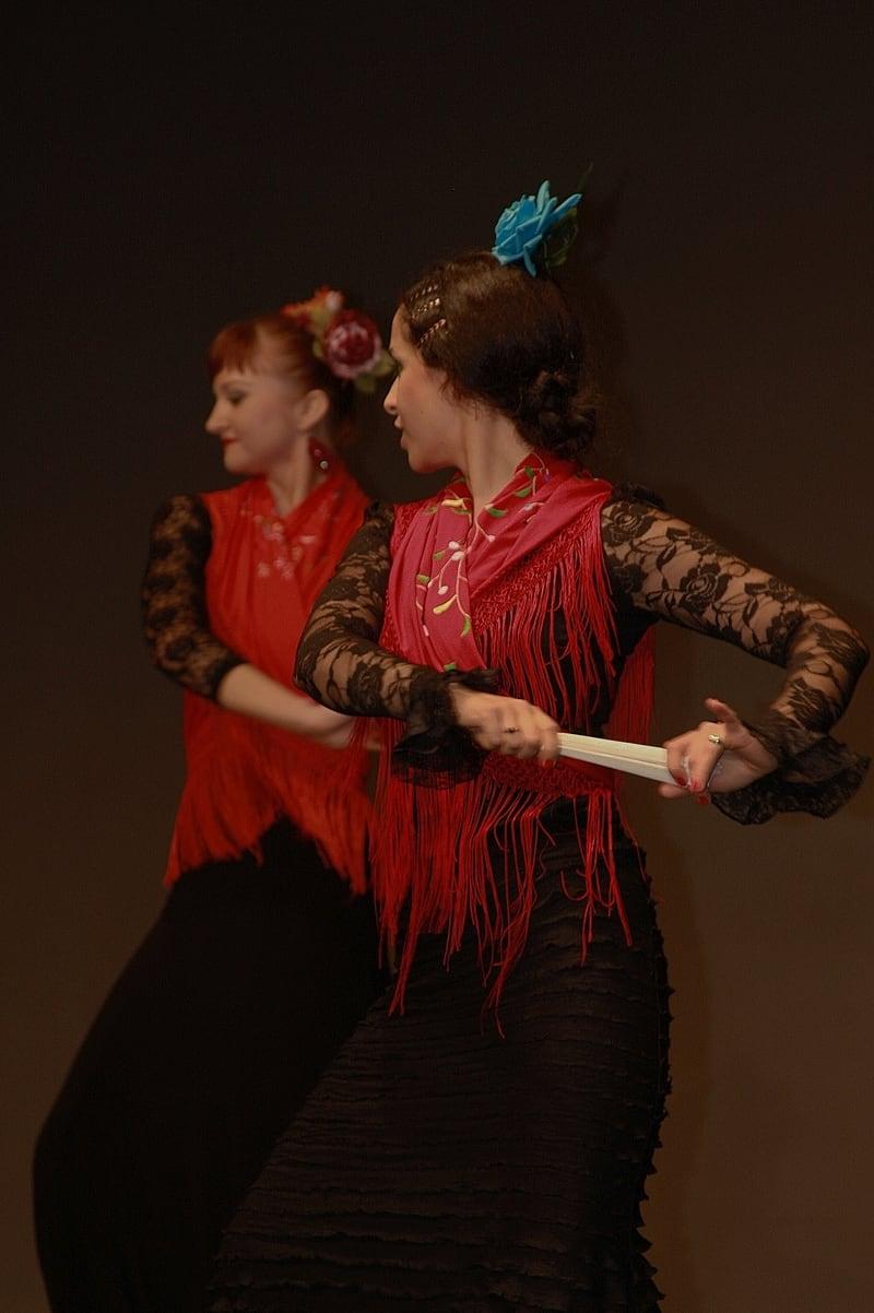 Taniec flamenco w Akademickim Centrum Kultury UG