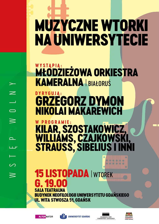 Muzyczne wtorki - Młodzieżowa Orkiestra z Białorusi
