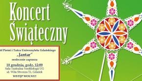 Koncert Świąteczny ZPiT UG Jantar