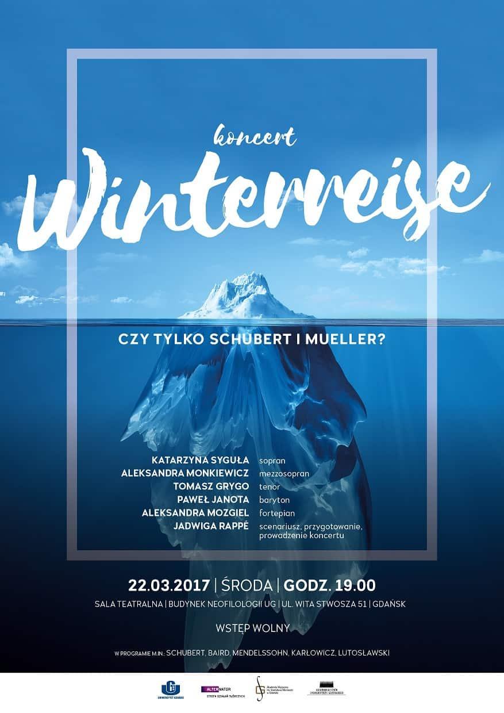"""Koncert: """"Winterreise. Czy tylko Schubert i Mueller?"""""""