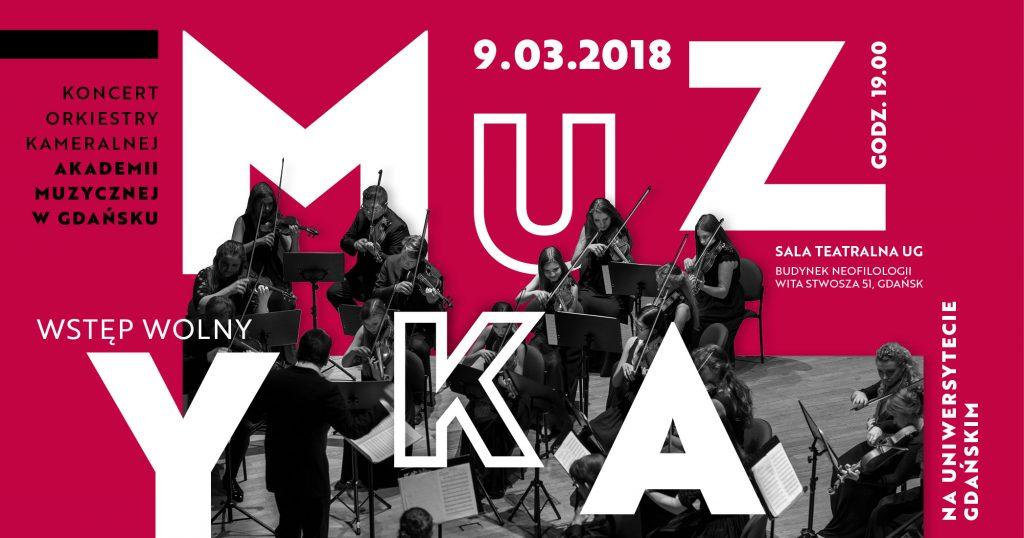 baner koncert Muzyka na UG