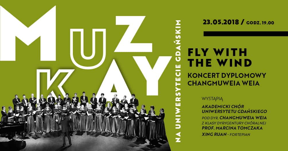 Fly with the wind – Muzyka na UG