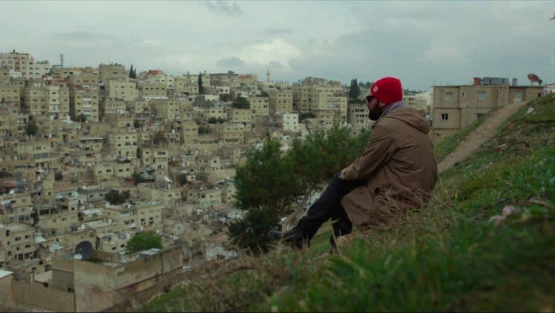 kadr filmowy Arabski sekret