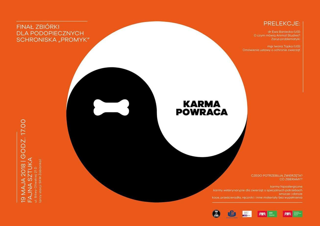 plakat zbiórki karma powraca