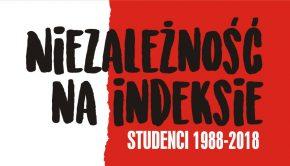 niezależność na indeksie plakat