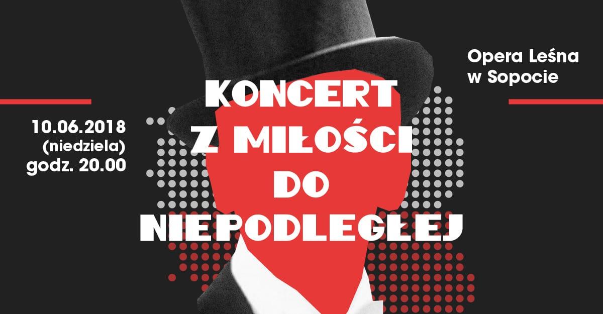Koncert  z okazji obchodów 100-lecia Niepodległości Polski