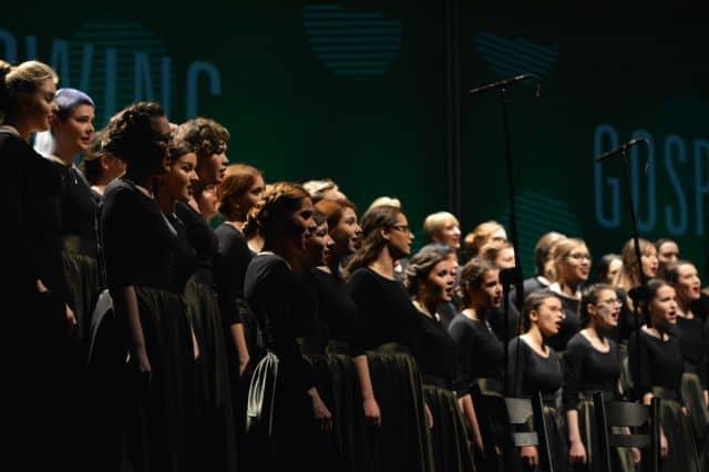 Koncert Akademickiego Chóru UG przed konkursem w Hiszpanii
