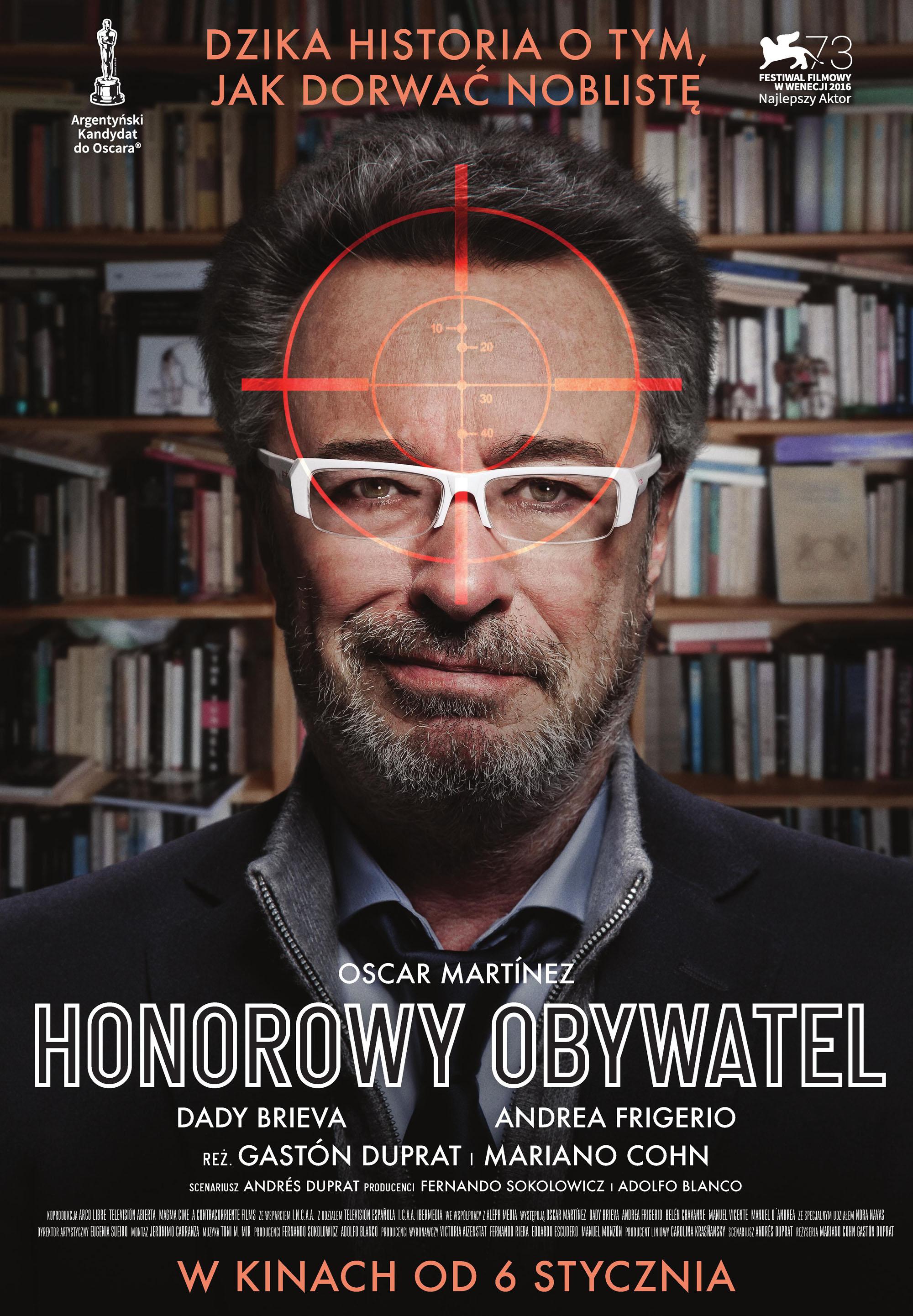 plakat film honorowy obywatel