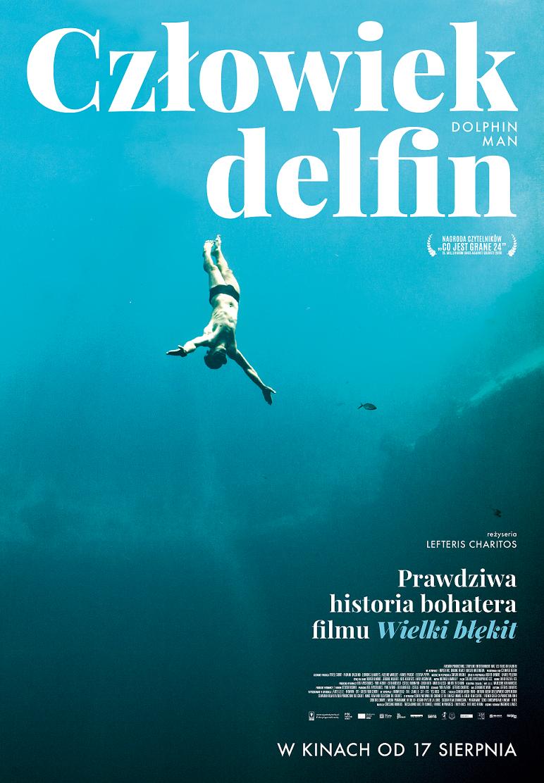 Plakat filmu Człowiek delfin