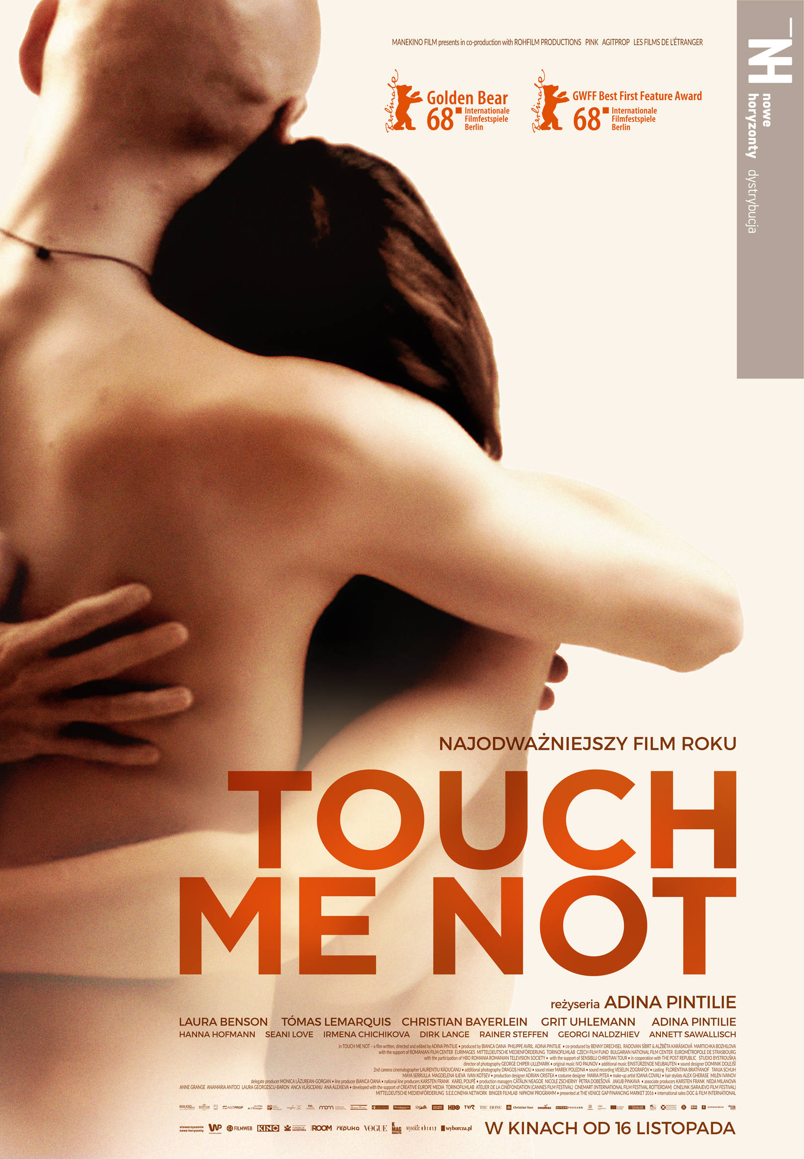 Plakat filmu Touch me not